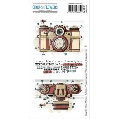 Chou & Flowers EZ stamps - Voyage Imaginaire Photographie
