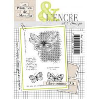 Libre comme l'air - clear stamps by L'Encre et L'Image