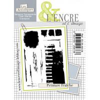 Peinture Fraîche (fresh paint) clear stamps by L'Encre et L'Image
