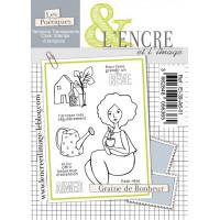 Graine de Bonheur - clear stamps by L'Encre et L'Image