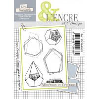 Minéraux et Végétaux - clear stamps by L'Encre et L'Image
