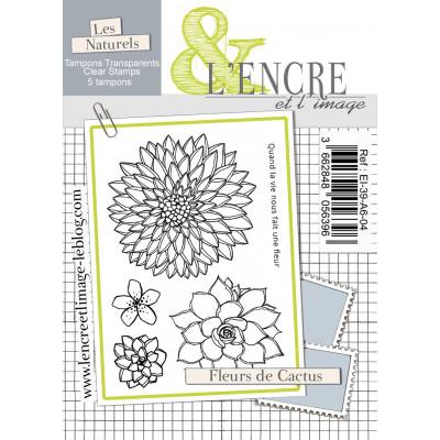 Cactus Flowers - clear stamps by L'Encre et L'Image