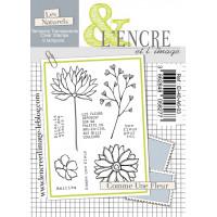 Comme une fleur - clear stamps by L'Encre et L'Image