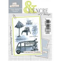 Vacances, j'oublie Tout ! - clear stamps by L'Encre et L'Image