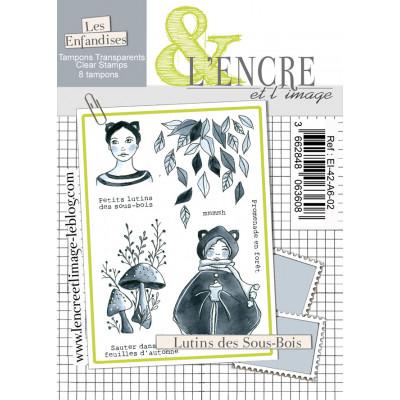 Lutins des sous-bois - clear stamps by L'Encre et L'Image