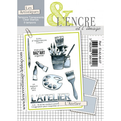 L'Atelier - clear stamps by L'Encre et L'Image