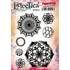 PaperArtsy Stamps Eclectica Tracy Scott ETS23