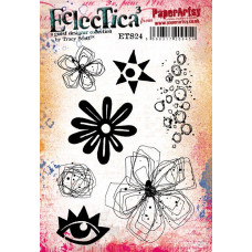 PaperArtsy Stamps Eclectica Tracy Scott ETS24