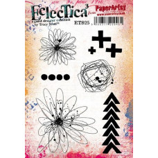 PaperArtsy Stamps Eclectica Tracy Scott ETS25