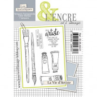 La Vie d'Artiste - clear stamps by L'Encre et L'Image