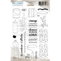 Chou & Flowers Clear stamps - Collection Journal Chromatique Nuancier 3