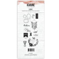 Clear stamps Esprit Bohème Bohème - Les Ateliers de Karine