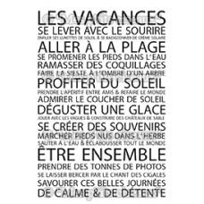 Les Vacances stamps - Farniente collection by Mes p'tits ciseaux