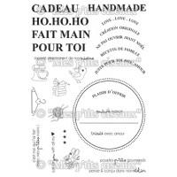 Fait Main stamps - Flocons collection by Mes p'tits ciseaux