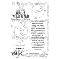 Winter Days stamps - Flocons collection by Mes p'tits ciseaux