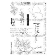 Clear stamps A fleur de peau - Collection Harmonie by Mes Ptits Ciseaux