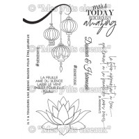 Clear stamps Zénitude - Collection Harmonie by Mes Ptits Ciseaux