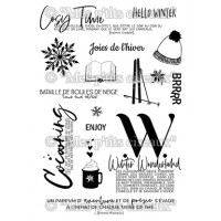 Joies de l'hiver Clear stamps - Pôle Nord collection by Mes p'tits ciseaux