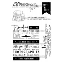 City Break clear stamps - Grunge collection by Mes p'tits ciseaux