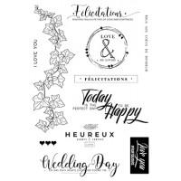 Ce jour là clear stamps - Plume collection by Mes p'tits ciseaux