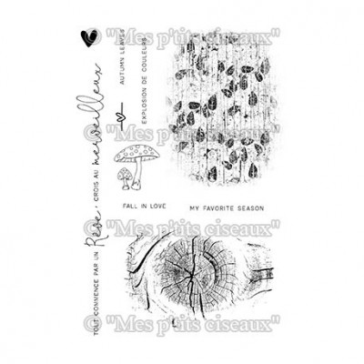 Fonds Nature stamps - Sous-bois collection by Mes p'tits ciseaux