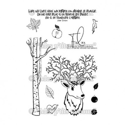 Dans les bois stamps - Sous-bois collection by Mes p'tits ciseaux