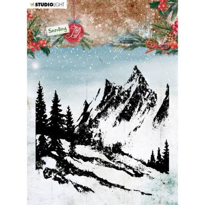 StudioLight transparent stamp - Background landscape Sending Joy nr.55