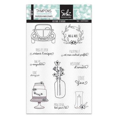 Clear stamps SO'Special Histoire d'amour - Sokaï