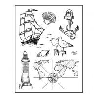 Viva Decor stamp set - Seafaring
