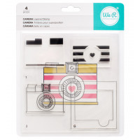 Wr R Memory Keepers layering stamp set - Camera