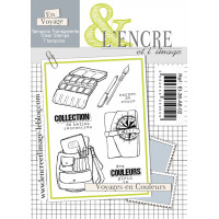Voyages en couleurs - clear stamps by L'Encre et L'Image