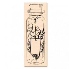 Wooden stamp Jolie boutaille - Cahier d'Automne Les Ateliers de Karine