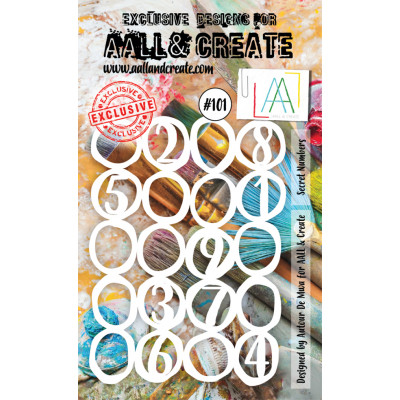 AALL and Create Stencil MASK SECRET NUMBERS 101