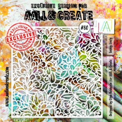 AALL and Create Stencil Mask - 080 Lushly Leafy