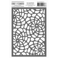 Chou & Flowers Stencil - Coquillages (shells)