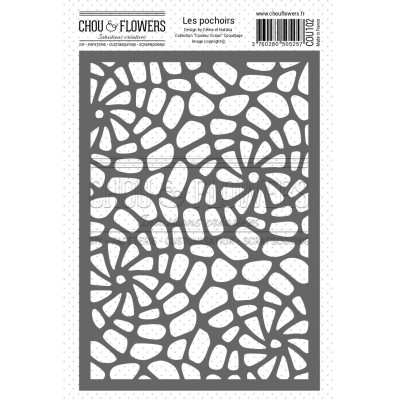 Chou & Flowers Stencil - Coquillages (shells)