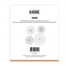 Sewing stencil Intemporelle Napperons - Les Ateliers de Karine
