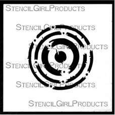 Techno Insiders Circle Stencil M086 by StencilGirl Products