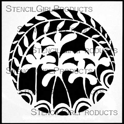 Stepping Stone #3 Stencil by StencilGirl Products
