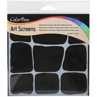 ColorBox Art Screens stencil - Stonework
