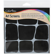 ColorBox Art Screens stencil - Stonework