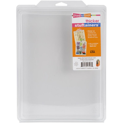 Stampendous Stuftainer 'Thicker' - storage of wooden stamps and more