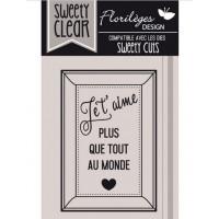 Plus que tout - Clear stamps by Florilège