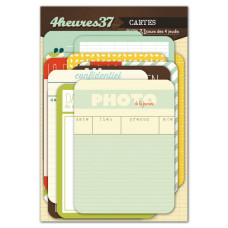 31 cours des 4 jeudis - journaling cards