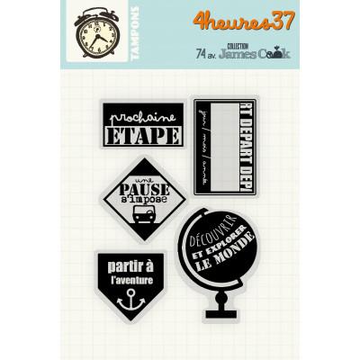 74 av. James Cook -Stamps #2