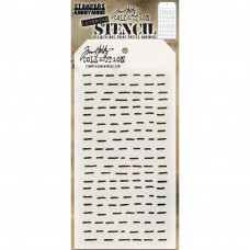 Tim Holtz Layering Stencil - Dashes