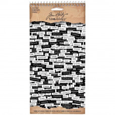Chitchat stickers - Tim Holtz Idea-Ology