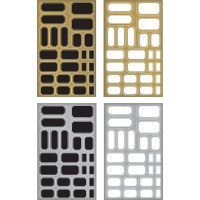 Metallic Label Stickers - Tim Holtz Idea-Ology