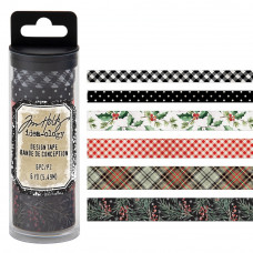 Idea-Ology Designer Tape Tim Holtz - Christmas