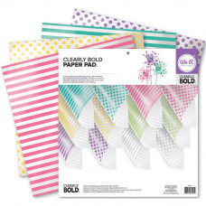 Clearly Bold Transparent Pack 12x12